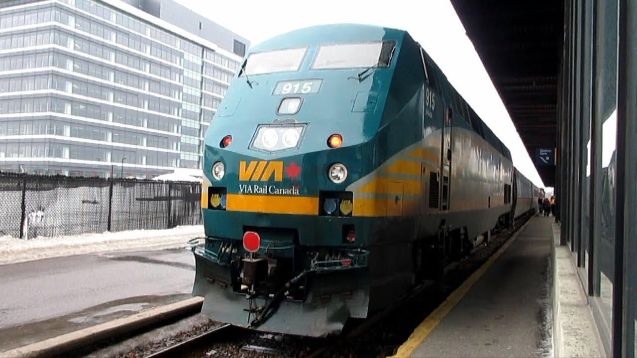 Via Rail Canada 50 Toronto Ottawa March 22nd 2019