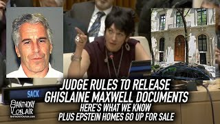 Judge Rules To Release Ghislaine Maxwell Documents