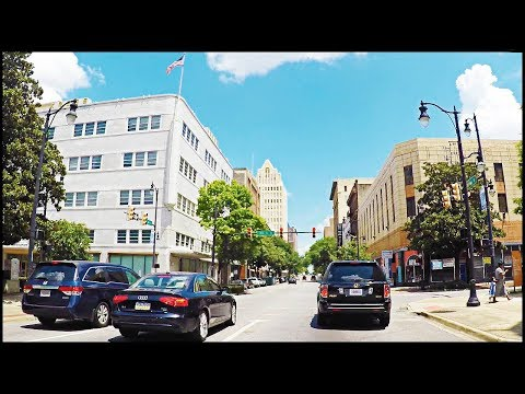BIRMINGHAM ALABAMA CITY DRIVE - 4K - USA