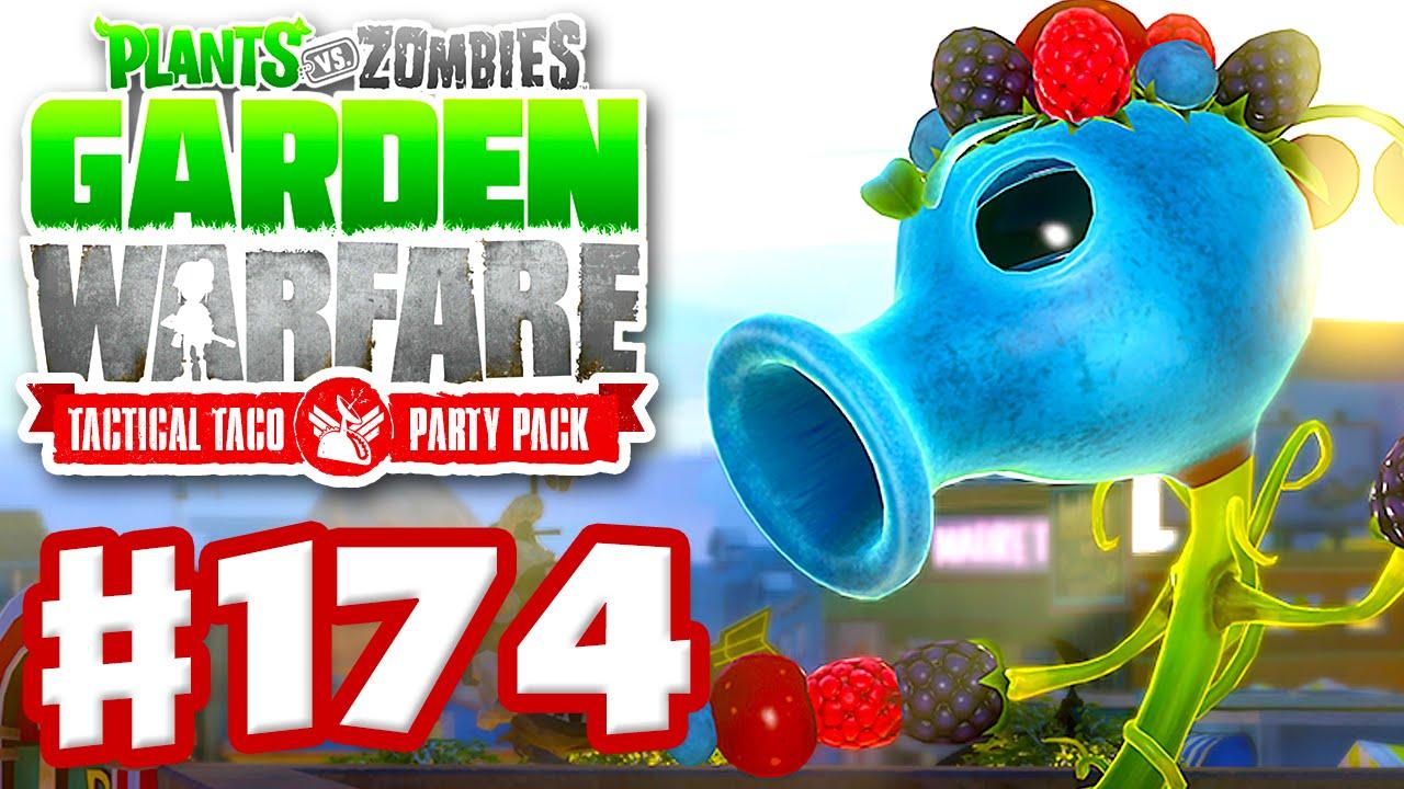 Plants Vs Zombies Garden Warfare Gardens Graveyards Gameplay