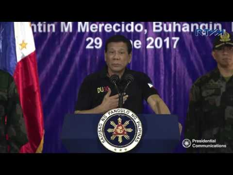 Camp Visit to the Philippine National Police – Police Regional Office XI (Speech)