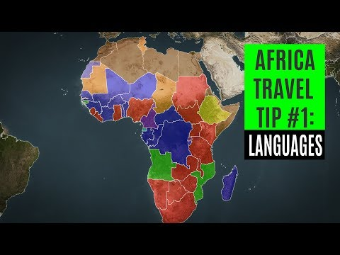 Africa Travel Tip #1: Which countries speak English, French, or Portuguese