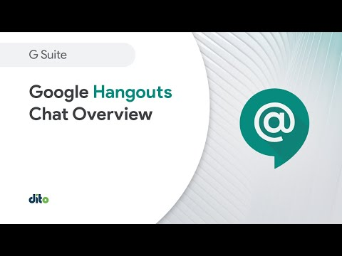 Google Hangouts Chat overview demo