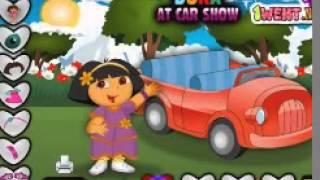 Dora The Explorer ♻ Дора На автомашина шоу ♻ Детские игры для детей HD
