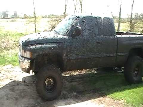 lifted ram in the mud