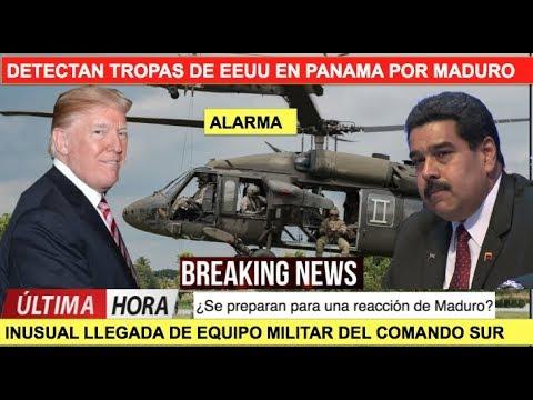 EEUU envia tropas a Panamá por Maduro