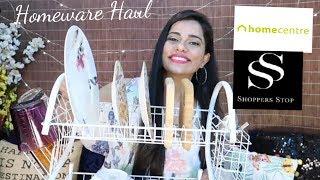 HomeCentre & Shoppers Stop Sale Haul   Sana K