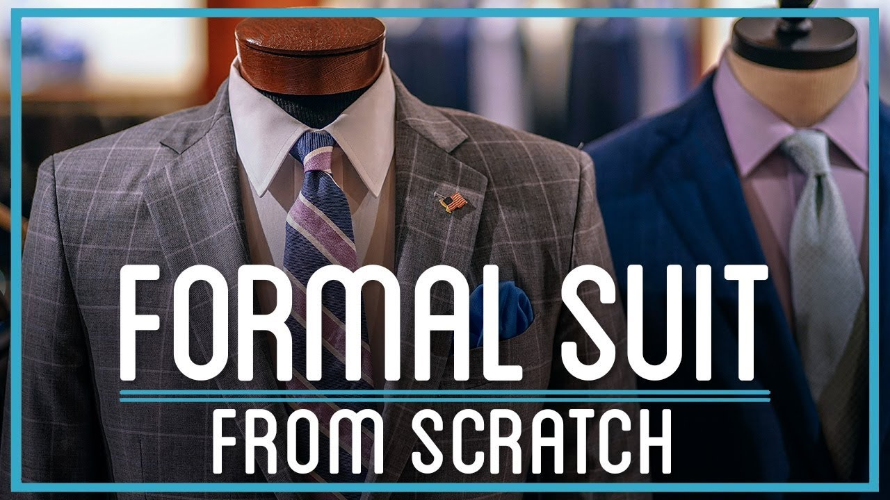 452d0bc28 How to Make a Formal Suit from Hemp