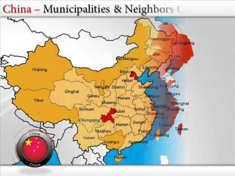 Image Of China Map.Map Of China Youtube