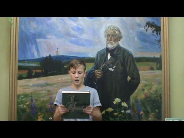 Изображение предпросмотра прочтения – ЯрославЧеберяк читает произведение «Как хороши, как свежи были розы...» И.С.Тургенева