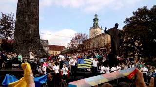 US Army Europe Band and Chorus in Lviv, Ukraine