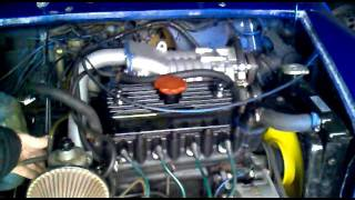 Classic Mini supercharged 998cc mk1   sexy supercharger