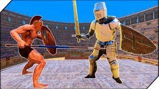 БИТВА ГЛАДИАТОРОВ .КОЛИЗЕЙ - Ultimate Epic Battle Simulator