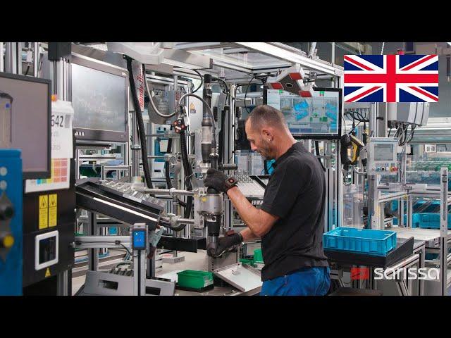 Sarissa in action at Schwäbische Formdrehteile GmbH & Co. KG in Babenhausen