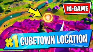 *NEW* CUBETOWN Location Gameplay - Fortnite (The Convergence)