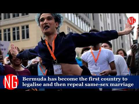 Bermuda The First Ever To Legalize And Then Repel Same-Sex Marriage