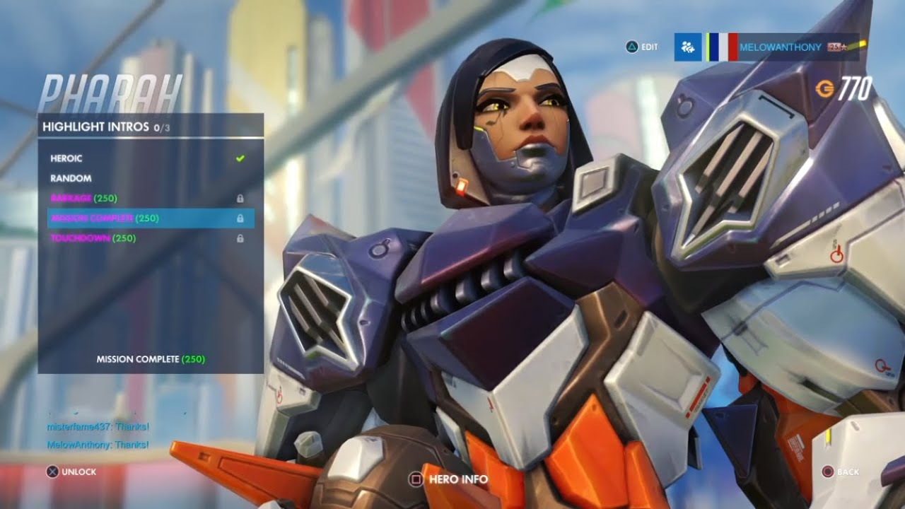 Overwatch: Pharah Mechaqueen Skin - Orcz.com, The Video Games Wiki