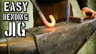 Easy Bending Fork to Add to Your Blacksmith Tool Box