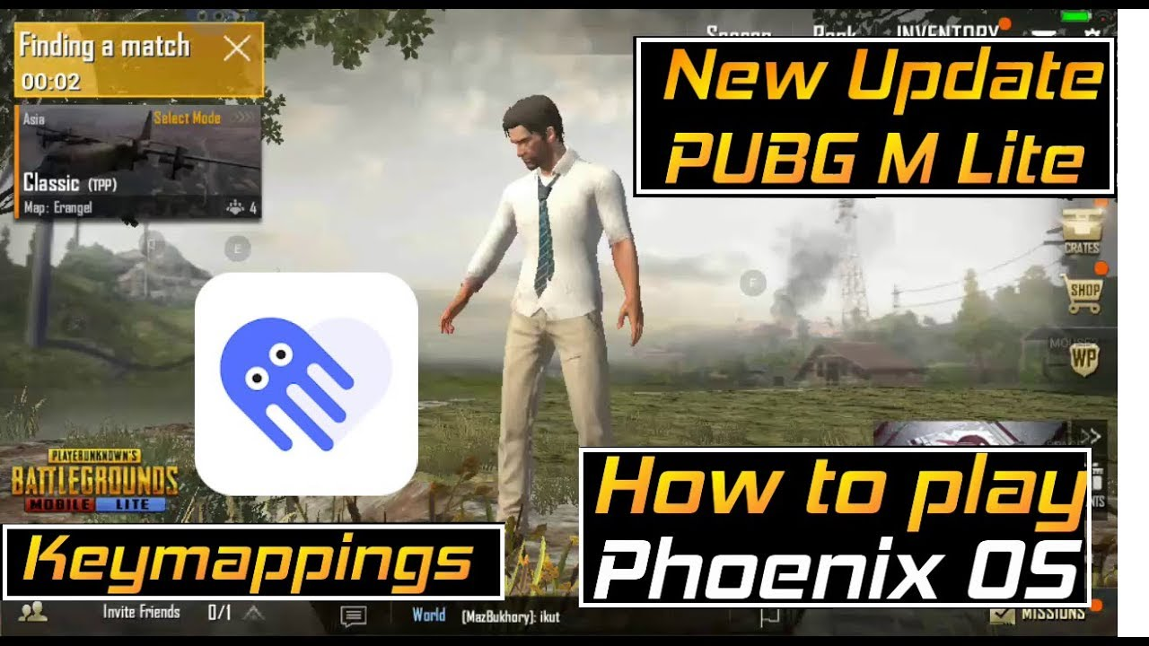 Phoenix OS | PUBG Mobile Lite New Update How to Install And