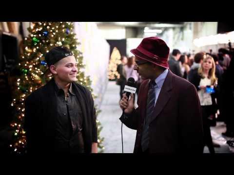Murtz Jaffer Interviews The X Factor's Lil Eddie Serrano On Red Carpet