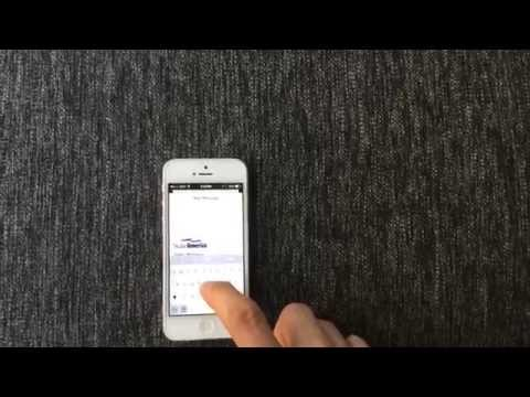How to setup html email signature with an image on iPhone/iPad