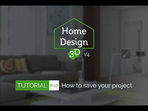 Home Design 3D - TUTO 10 - How to Save/Share Your Project
