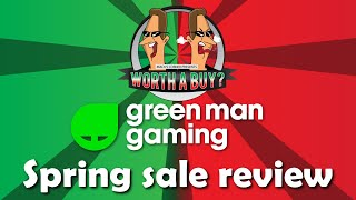 Spring Sale Review Greenman Gaming - Grab some deals for the lockdown