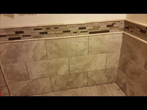 How To Grout Bathroom Or Shower Tiles on the Wall - Part 1 - Mixing ...