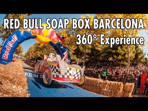 Red Bull Soap Box Race Barcelona | 360° POV Experience