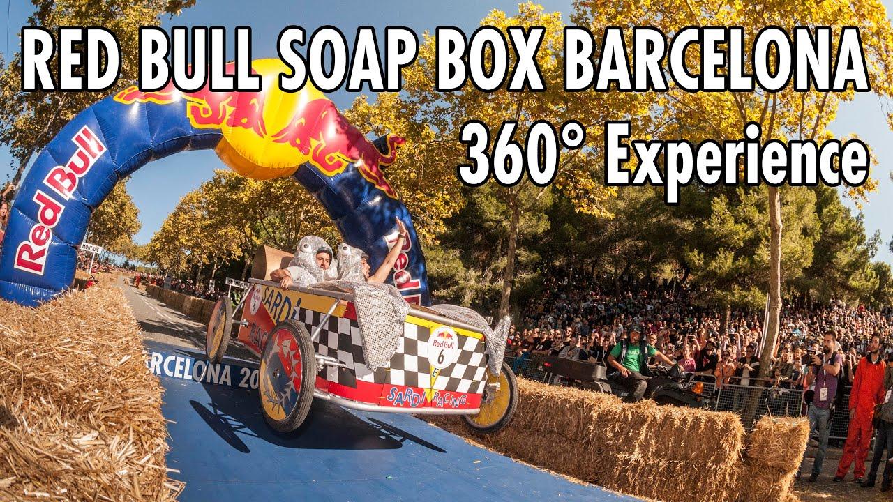 red bull soap box race barcelona 360 pov experience. Black Bedroom Furniture Sets. Home Design Ideas