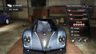 Test Drive Unlimited 2 Steam Bonus - Pagani Zonda Tricolore PC Gameplay HD