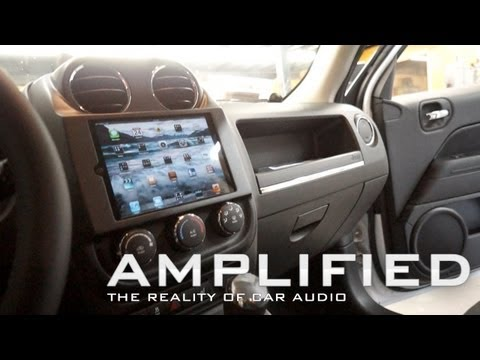 amplified---ipad-mini-in-car-dash-of-a-jeep-patriot,-polk-audio-speakers-dodge-ram,-ep-81