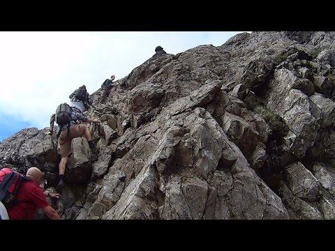 Climbing Crib Goch