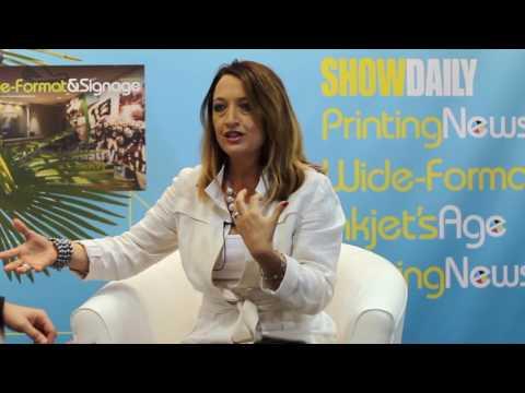 GRAPH EXPO 16: James Matthews-Paul interviews Tawnya Starr, President, PrinterPresence