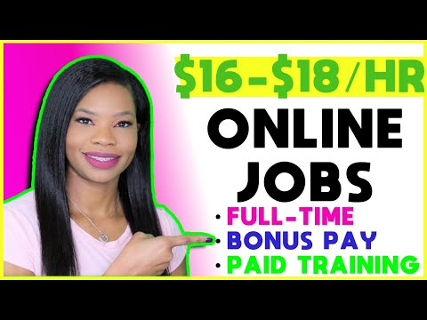 🏡 $16-$18 Hourly Work-From-Home Jobs! ENTRY LEVEL + BONUSES | Apply NOW!