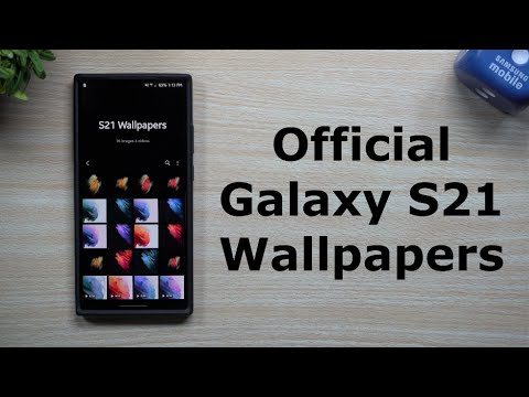 Sharing The Samsung Galaxy S21 Wallpapers (Live & Standard)