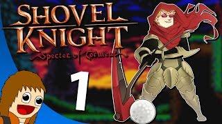 Shovel Knight: Specter of Torment   Plains & Tower of Fate Hub World