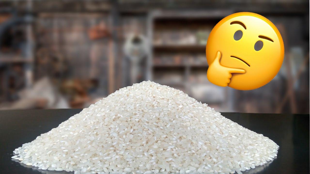 ¿ Sabes cuántos granos de arroz hay en un Kilo?