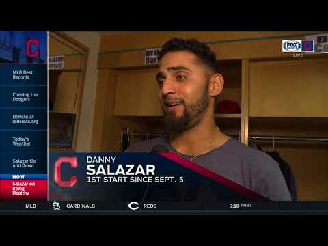 Danny Salazar openly admits he just wants to help Cleveland Indians any way he can in playoffs