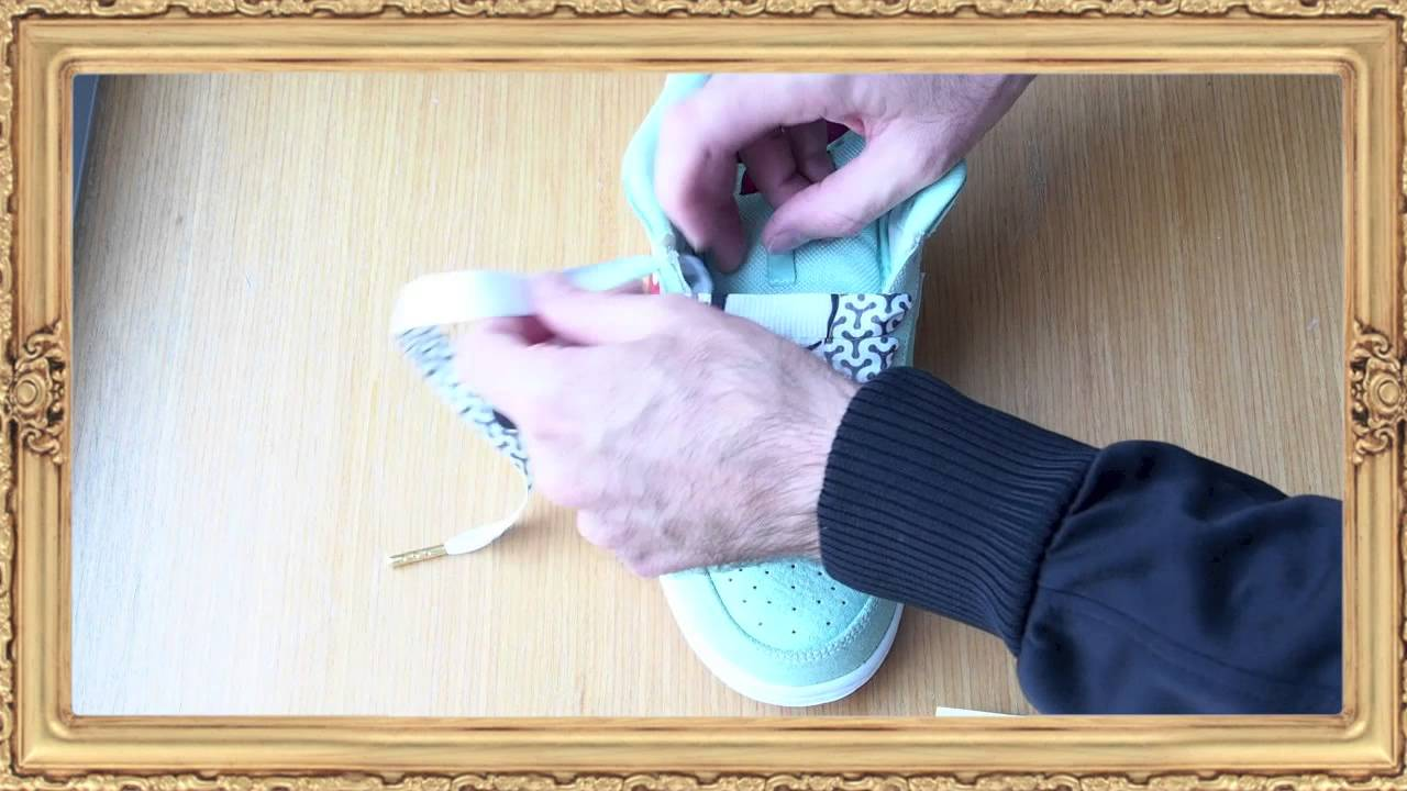 How to lace Nike Dunks by Lace Lords