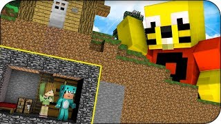 RETO BASE TIO WALKY VS NIÑOS RATA MUTANTES 🔥 MINECRAFT ROLEPLAY RETO DE LA BASE con VITA