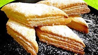 """Супер простой рецепт! Печенье """"Наполеончики"""". Вкусно!!!"""