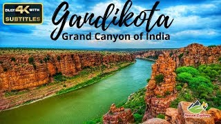 GANDIKOTA – GRAND CANYON OF INDIA in 4k | Night camping |Guide from Chennai [with SUBTITLES]
