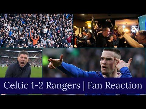 Celtic 1-2 Rangers | Fan Reaction & Atmosphere - Gerrards Side Win In Dominant Performance!