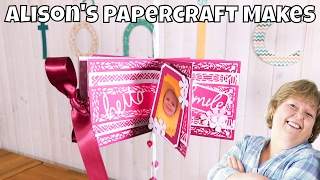Alison's Papercraft Makes: DL Layering Dies Star Book