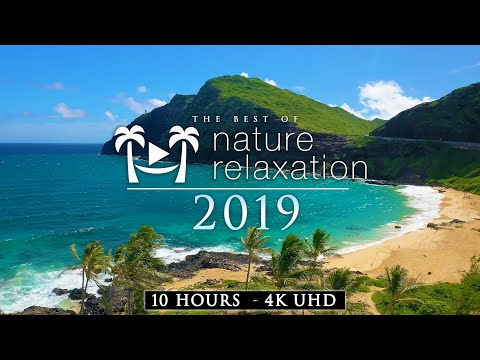 10 HOUR 4K DRONE FILM: Best Of Nature Relaxation™ 2019 + Calming Music (Ambient AppleTV Style)