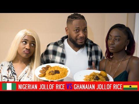 Nigerian Jollof Rice VS Ghanaian Jollof Rice
