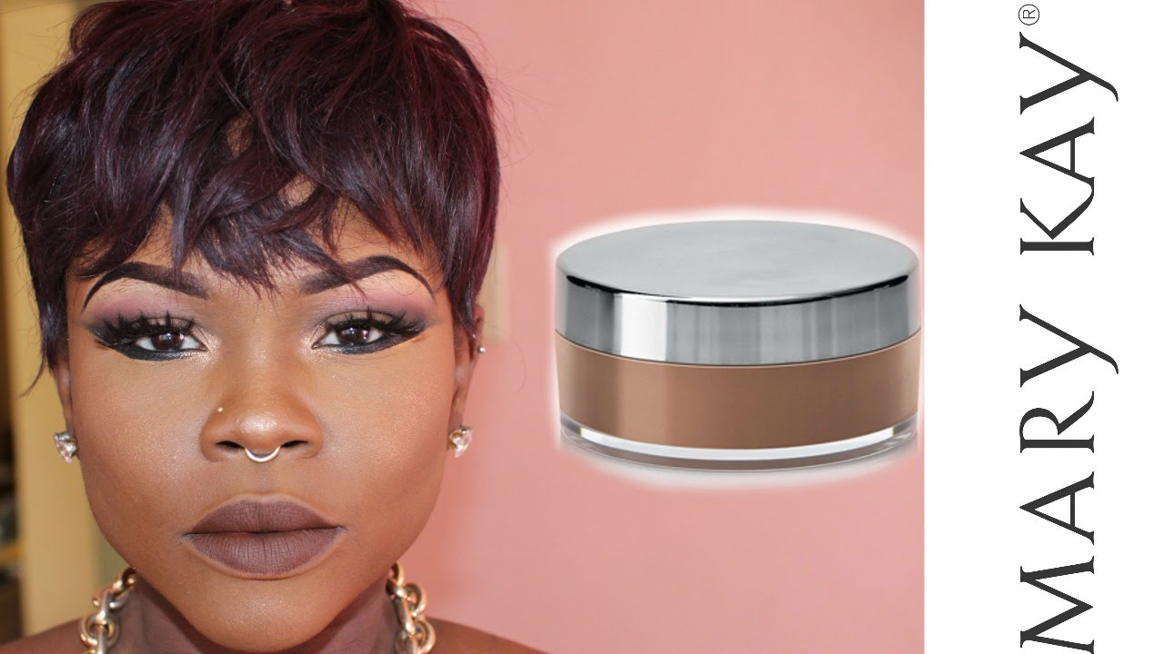 Marykay Bronze 5 Mineral Powder Foundation Review Youtube