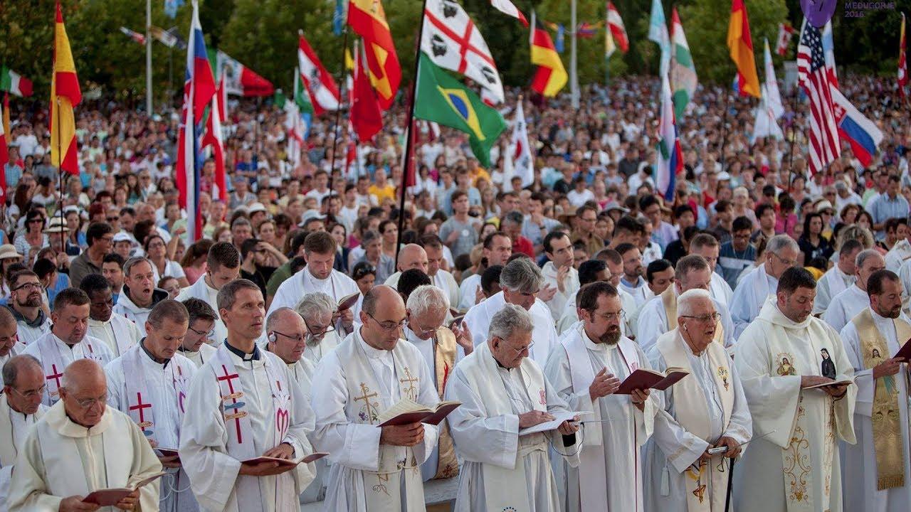 Những hình ảnh cảm động Liên hoan Giới Trẻ Công Giáo thế giới tại Medjugorje lớn chưa từng có