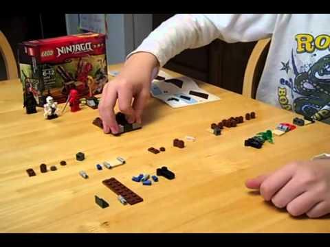 Building Lego Ninjago